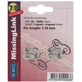 KMC CL-571 R Misslink - Chaîne - 7,1mm argent